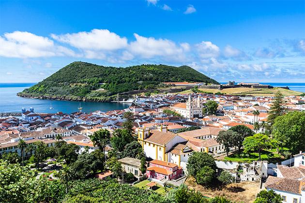 Angra do Heroísmo, île Terceira (Açores)