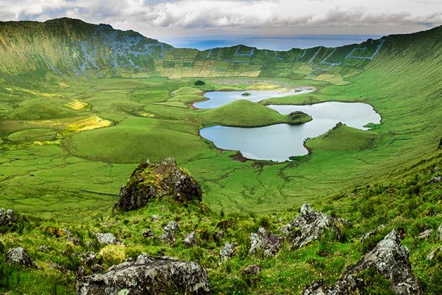 Corvo island, Azores