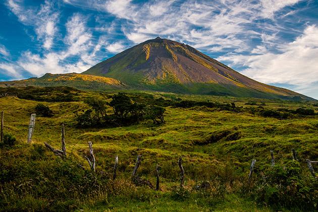 Montagne de Pico, Açores