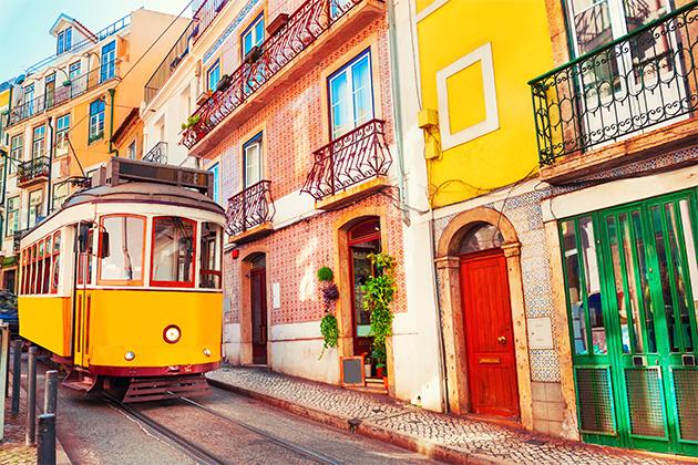 Um guia de férias em Portugal